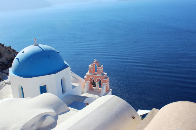 Mediterranean Islands Santorini Greece